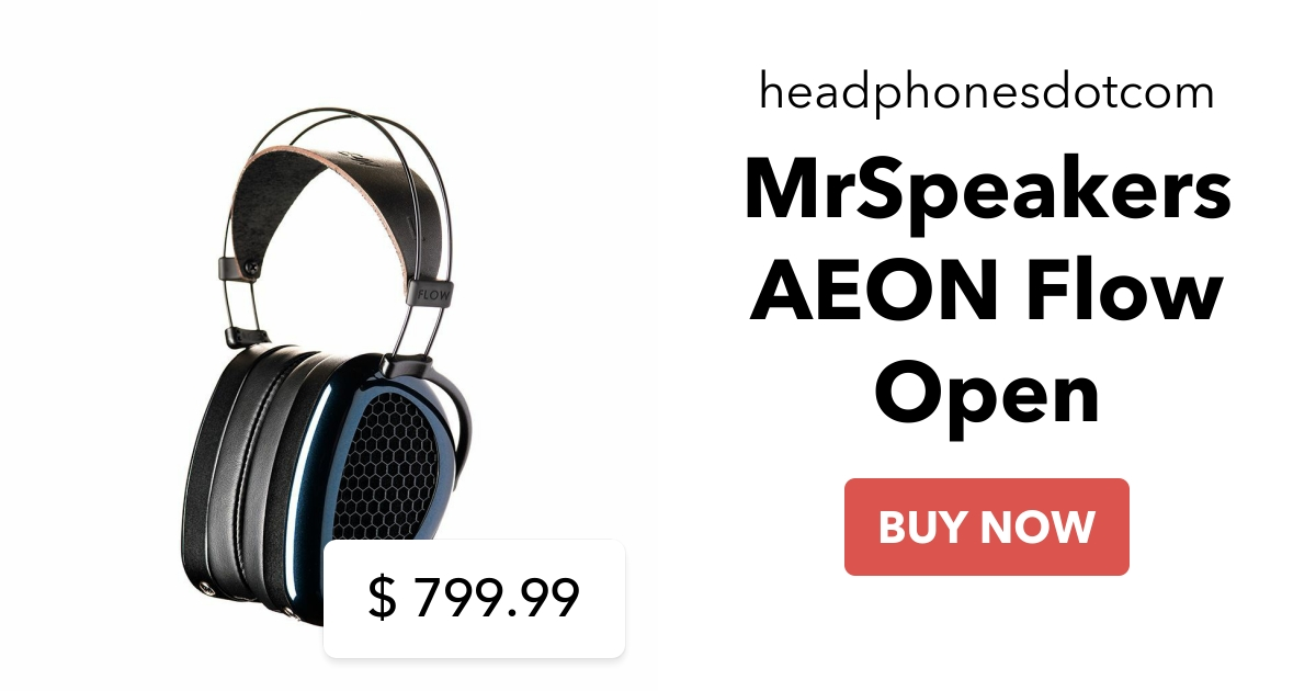Mrspeakers Aeon Flow Open Headphones Ca