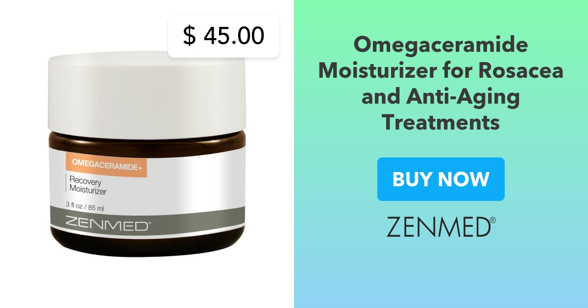Omega Ceramide Moisturizer For Rosacea And Anti Aging Treatments